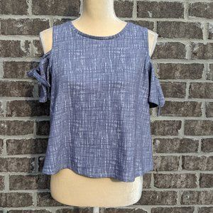 Madewell Hand Dyed  Off the Shoulder Top